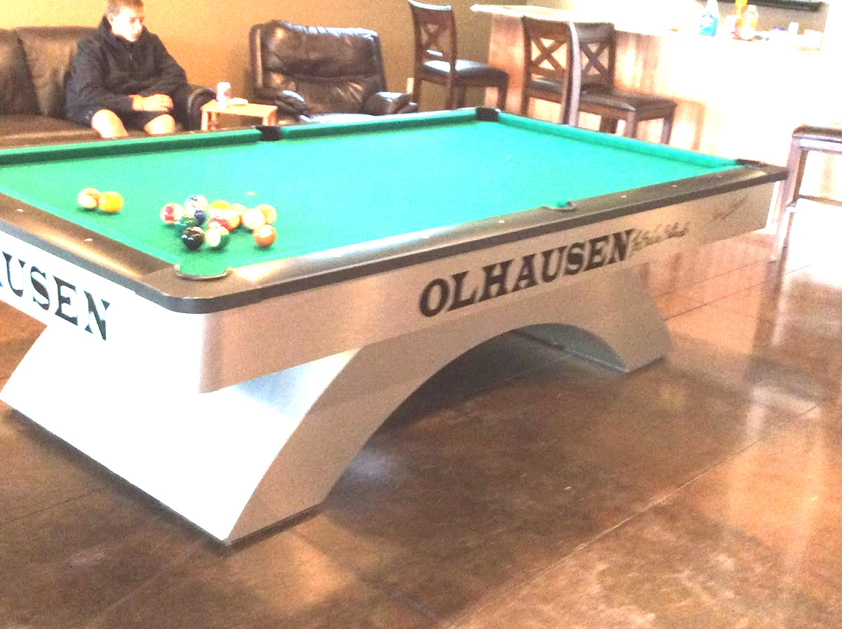 The Corner Pocket DIY Billiard Pool Table Maintenance Blog - How much room do i need for a pool table